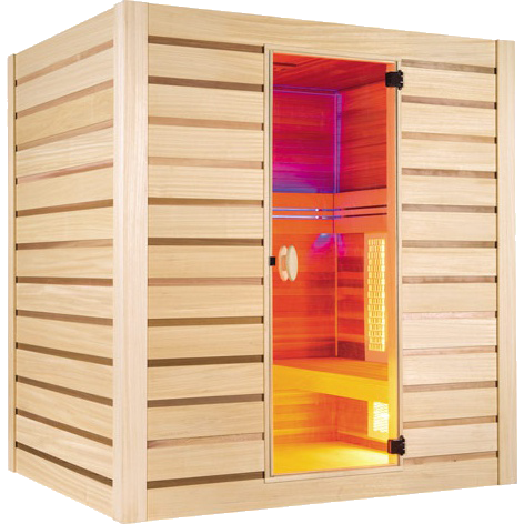 sauna hybride combi 4 places site
